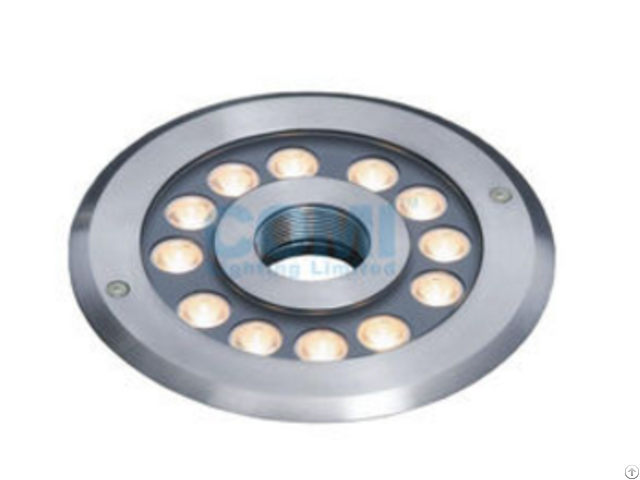 Modern Design 12 *2 W Led Fountain Ring Light Waterproof Lights