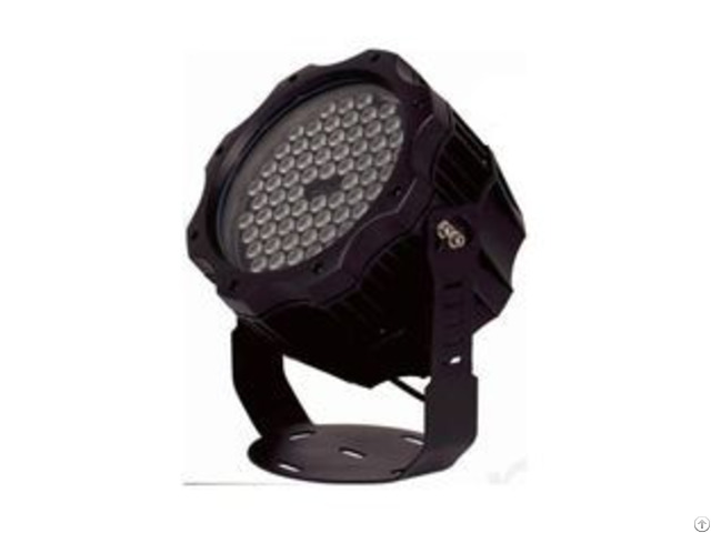 Rgbw High Power Led Garden Floodlight 72 1 5w Single Color Or 36 4w