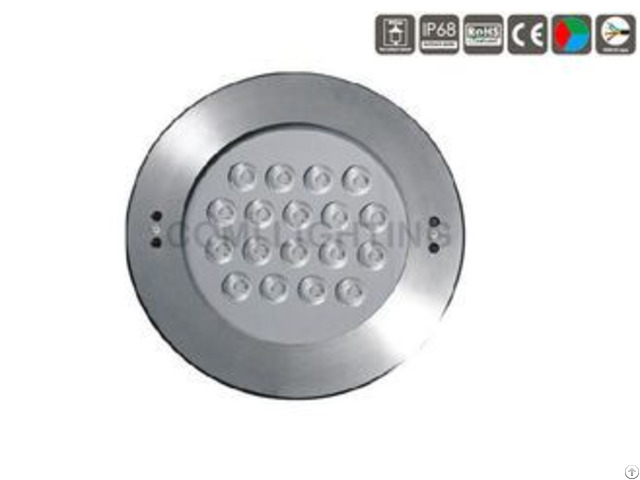 Dia 250mm Cover Led Underwater Pool Light Bulb For Fountains