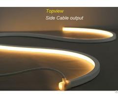 Fashionable Design Led Lamp Mini Size Neon Tape Light Anti Uv Ivory White Pvc