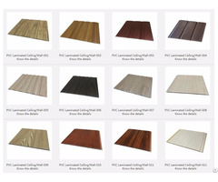 Pvc Laminated Ceiling Wall