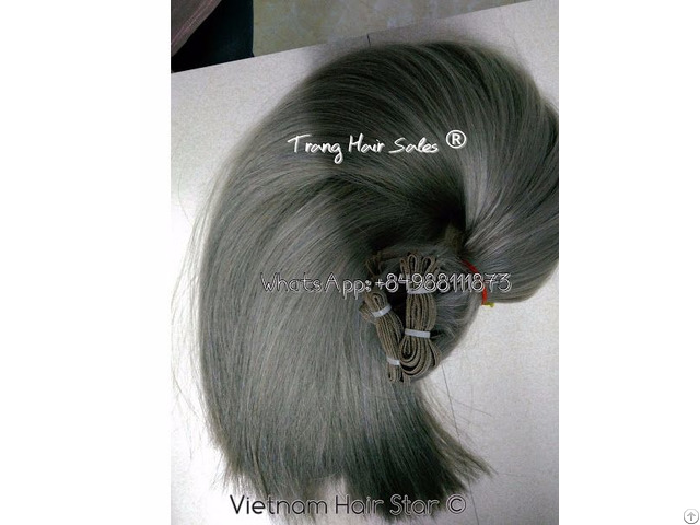 Full Double Drawn Remy Weft Hair Wholesale Price Top Gold Supplier