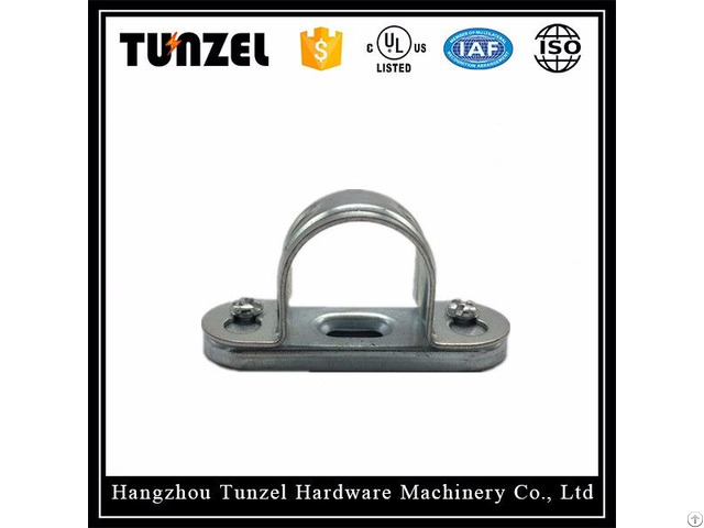 China Supplier Bs 4568 31 Conduit Pipe Saddle Clamp