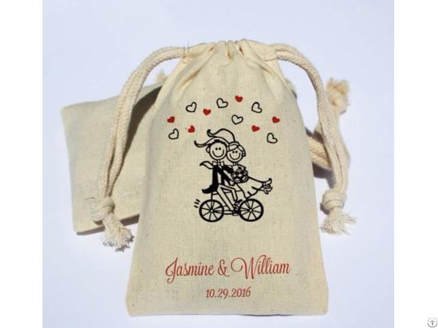Cotton Coffee Bean Bag Muslin Pouch