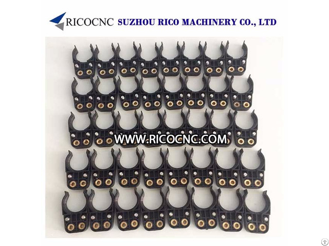Black Bt30 Toolholder Forks Atc Tool Grippers For Cnc Machines