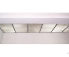Indoor Design Glass Honeycomb Core Ceiling
