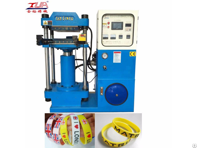 Silicone Rubber Wristband Pressing Machine Of Manufacturers