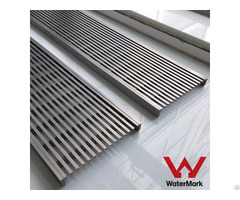 Stainless Steel Linear Shower Floor Drain With Wedge Wire Grate