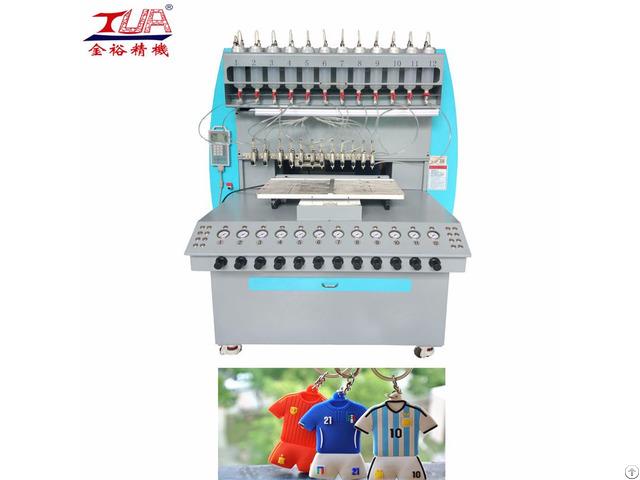 Dispensing Pvc Keychain Machine