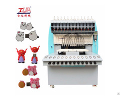 Full Automatic Pvc Plastic Usb Case 8 Color Dispensing Machine