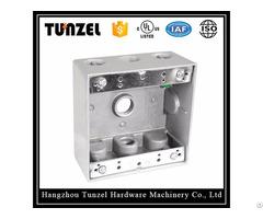 Electric Aluminum Metal Tgb Two Gang Junction Weatherproof Box
