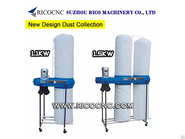 Portable Woodworking Industrial Dust Extractors Machinery