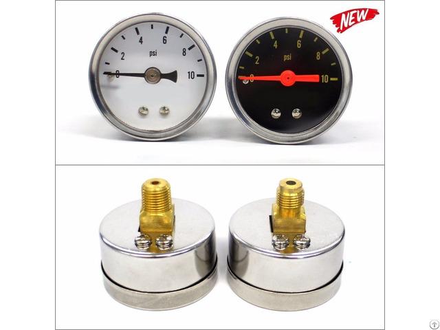 40mm Fuel Pressure Gauge 10psi