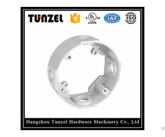 """4"""" Aluminum Electrical Box Round Extension Ring By Chinese Supplier"""