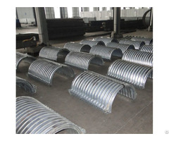 Nestable Corrugated Steel Pipes