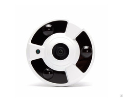 4mp Ahd Smart Ir Metal Fisheye Camera