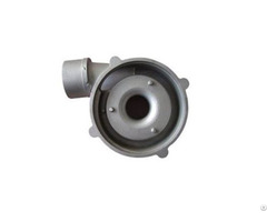 Motor Cover Die Casting Aluminum Alloy Adc12 Oem Available