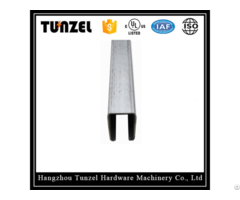 Electrical Galvanized Plain Support Steel C Channel By China Suppliers
