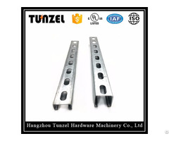 China Suppliers Electrical Galvanized Support C Slotted Channel
