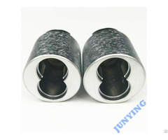 White Chrome Plating Brushed Metal Finish For All Lock Housings