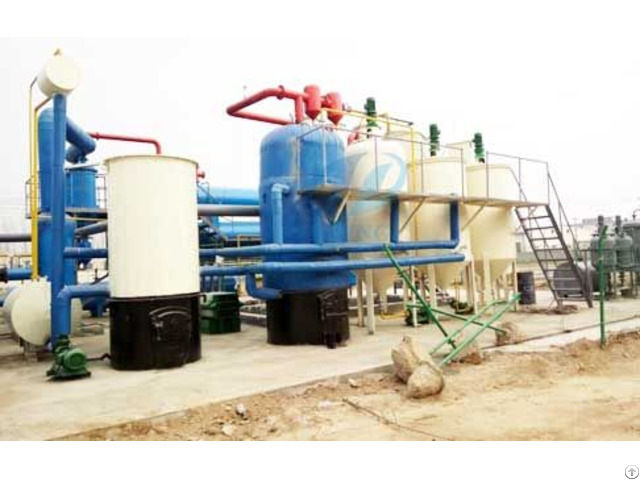 Waste Oil To Diesel Fuel Plant
