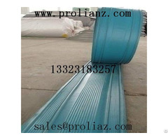 With A Special Pvc Water Stop Construction Joint