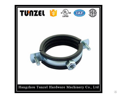 Electrical 3 4 Inch Pipe Clamp With Rubber Lined China Suppliers