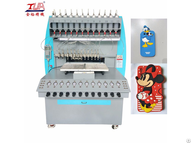 Automatic Silicone Mobile Case Injection Machine