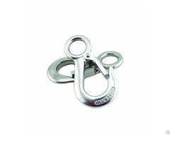 G100 High Load Bearing Eye Crane Spreader Hook With Latch