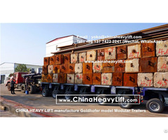 Compatible Goldhofer Thp Sl Model Modular Trailers Multi Axle Trailer From Chinaheavylift