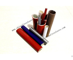 Silicone Coated Fibergalss Fire Sleeve