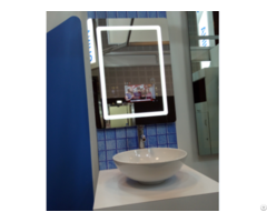 Led Light Bathroom Mirror With Touch Screen