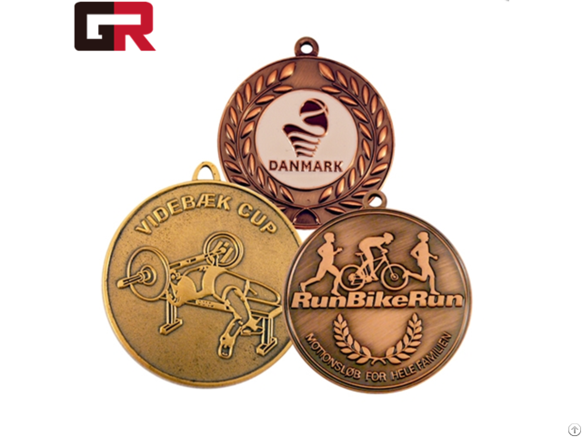 Factory Direct Sell Custom Metal Award Sports Medals