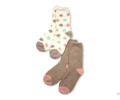 Ladies Fluffy Socks As 0172a 0172b