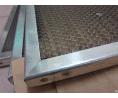 Honeycomb Panel With Edge