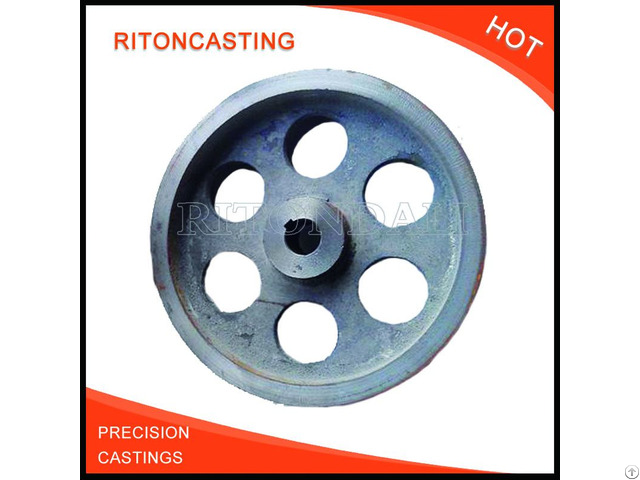 Oem Precision Metal Part Cast Iron Flywheel