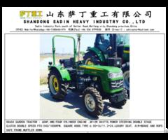 Sadin Sd604 Garden Tractor