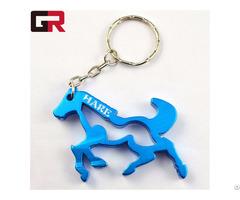 Best Selling Custom Metal Bicycle Keychain Bottle Opener