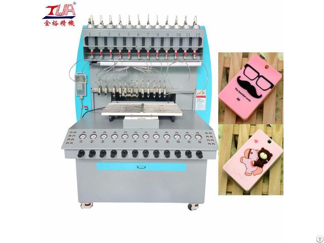 Silicone Card Holder Full Auto Dispensing Machine