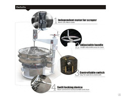 Stainless Steel Soy Sauce Rotary Vibration Sieve