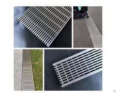 High Quality 304 316 Stainless Steel Wedge Wire Grate