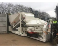 Used Mobile Concrete Mixing Plant Sumab C 15 1200