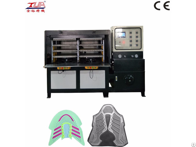 Kpu Sport Shoes Cover Embossing Machine