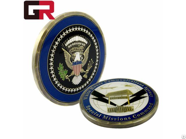 Custom Fashion Metal Challenge Coin Military