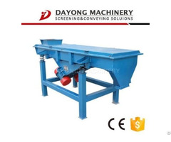 Linear Vibrating Screen Used For Silica Sand In Chemical Industry