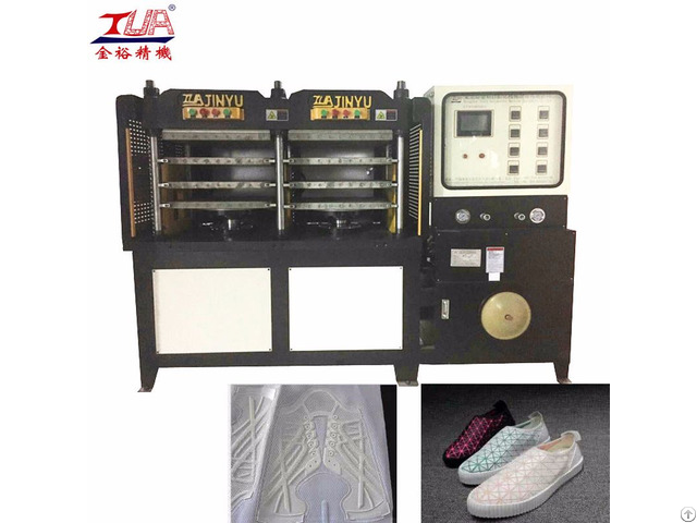 Ladies Shoes Making Heat Press Machine