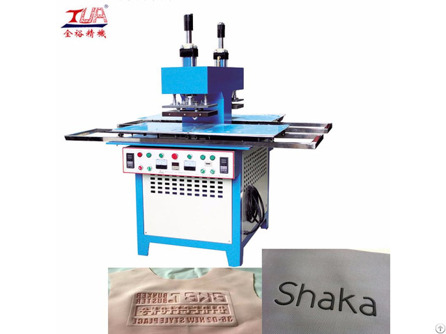 Rubber Logo Making Embossing Machine