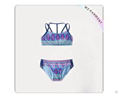 Kids Stripe Fusion Swimsuit 81% Nylon 19% Spandex