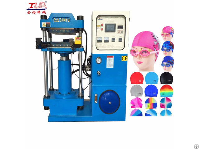 A Large Amount Of Supply Silicone Swimming Cap Hydraulic Machine