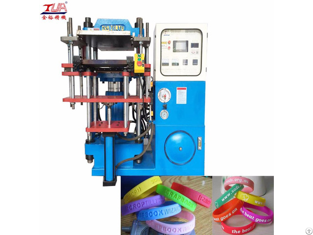 A Large Amount Of Supply Silicone Wristband Machine